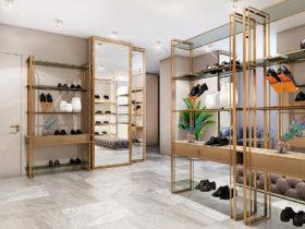Дизайн бутика одежды и обуви