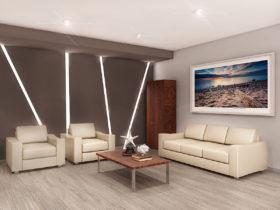 Дизайн кабинета руководителя, приемной и комнаты отдыха