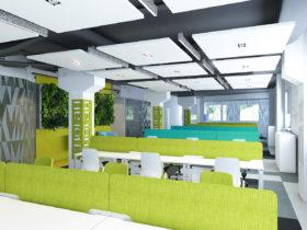 Дизайн офиса компании RG Brands