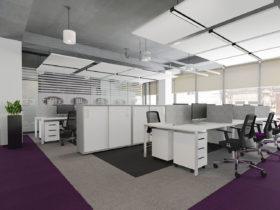 Офис крупной компании в стиле лофт
