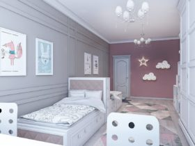 Изысканный дизайн квартиры в необычных цветах. Ж/к «Remizovka»