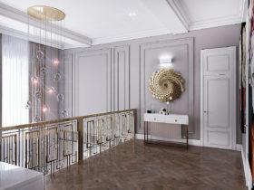 Дизайн дома, современная классика.
