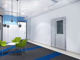 Дизайн офиса медицинской компании